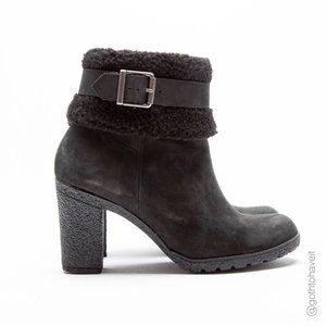 Timberland Women's Glancy Fleece Fold-Down Boots